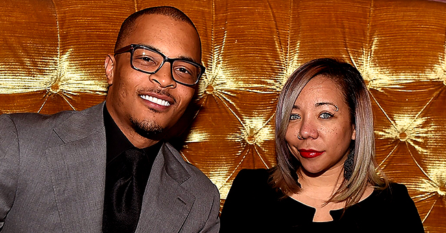 Tiny Harris of 'Family Hustle' Flaunts Her Cleavage and Curves in Tight Black Dress in PDA-Filled Pics with TI