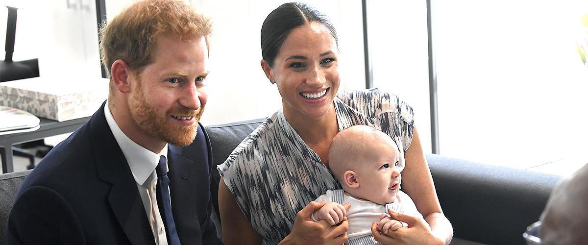 Bebé real: el pequeño Archie luce idéntico a su padre, el príncipe Harry