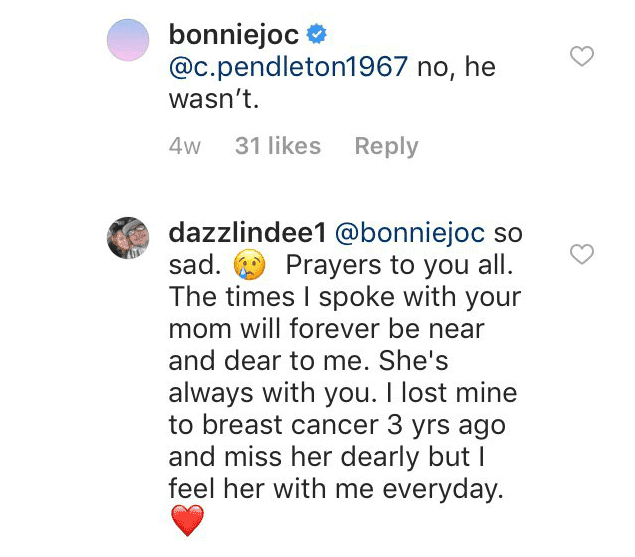 Beth responded to fans and confirmed that Duane Lee was not there   Getty Images / Global Images Ukraine