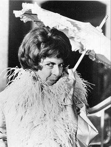 "Alice Pearce as Gladys Kravitz in ""Bewitched"" in 1966. 