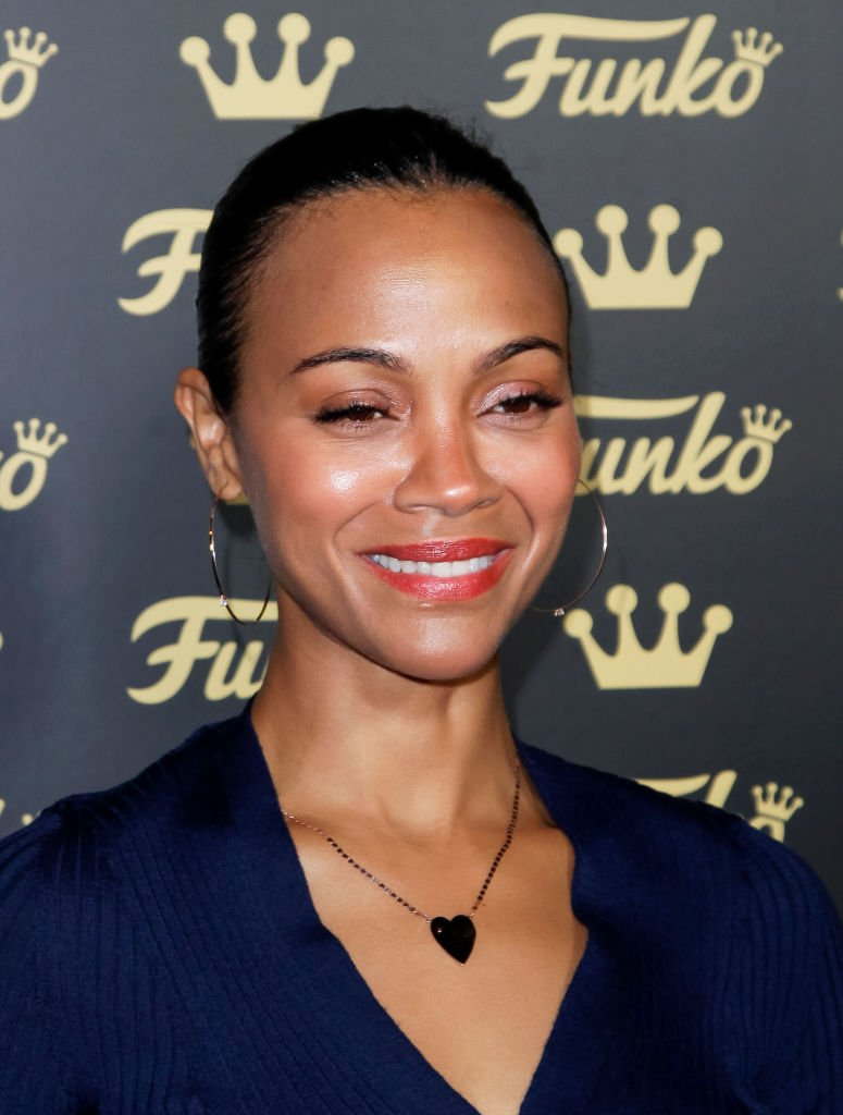 Zoe Saldana attends the grand opening of Funko Hollywood at Funko Hollywood Store | Photo: Getty Images