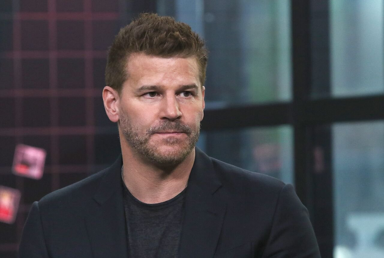 "David Boreanaz attends the Build Series to discuss ""SEAL Team"" at Build Studio. 