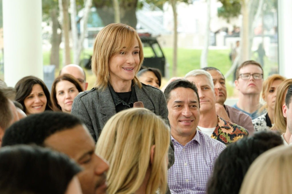 """Holly Hunter as Arpi on """"Brentwood Trash"""" episode 103, on Feb 2, 2020 