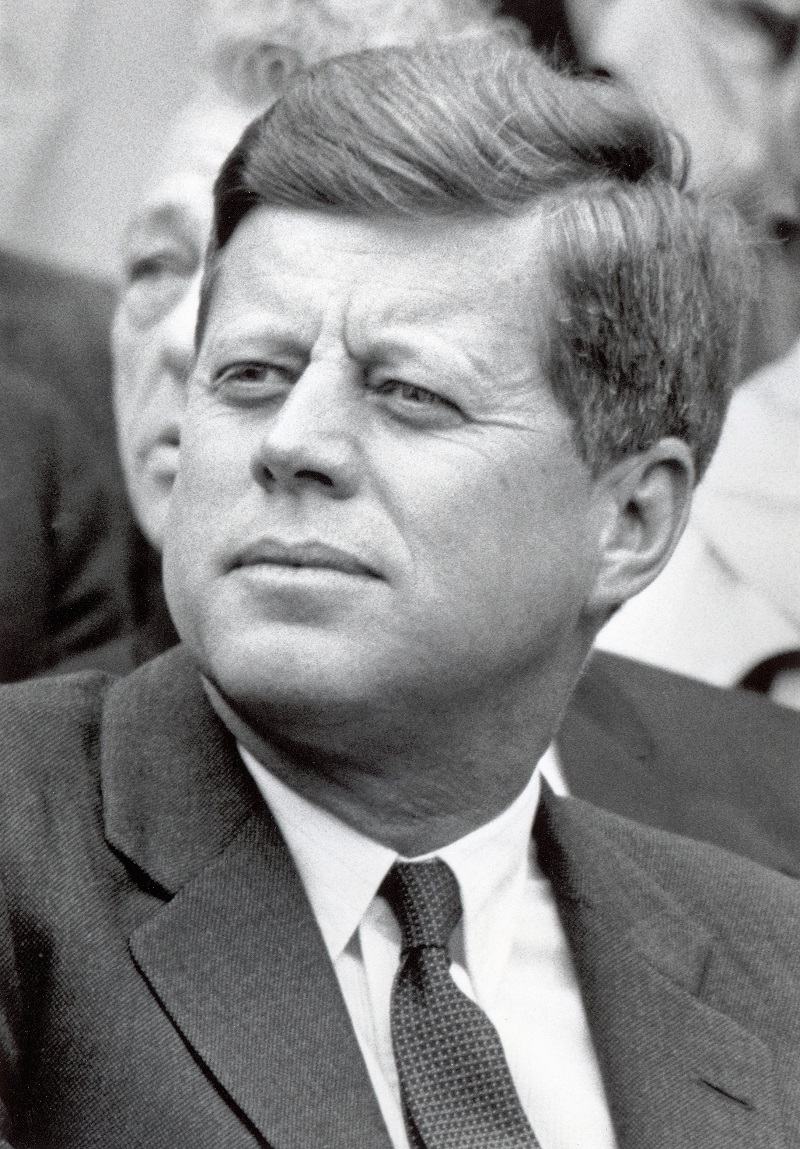 President John F. Kennedy at D.C. Stadium on April 9, 1962 in Washington, DC | Source: Getty Images