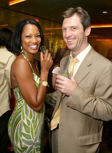 Garcelle Beauvais-Nilon and Mike Nilon at Prada in Los Angeles, California, United States | Photo: Getty Images