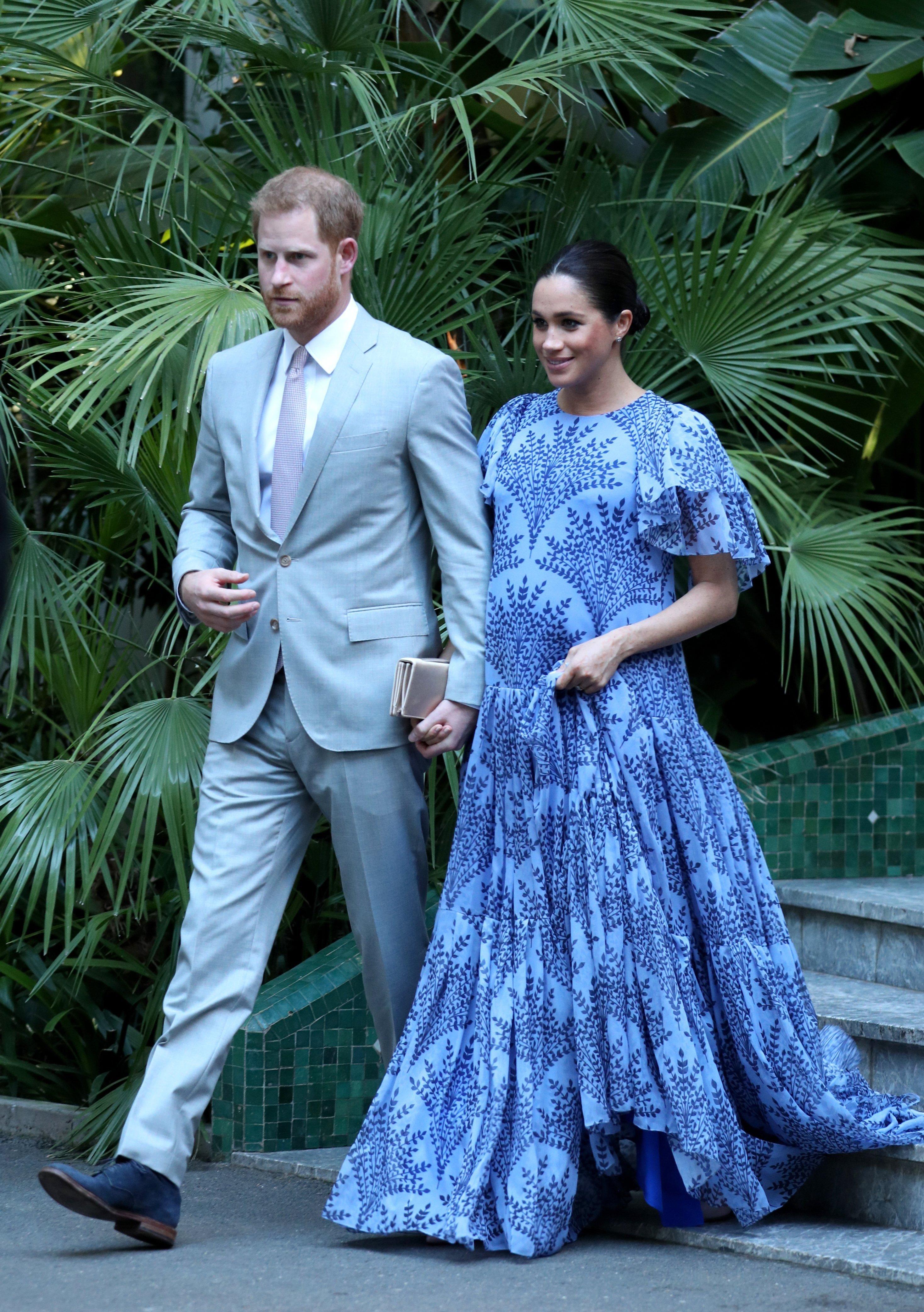 Meghan Markle und Prinz Harry, Februar 2019 | Quelle: Getty Images