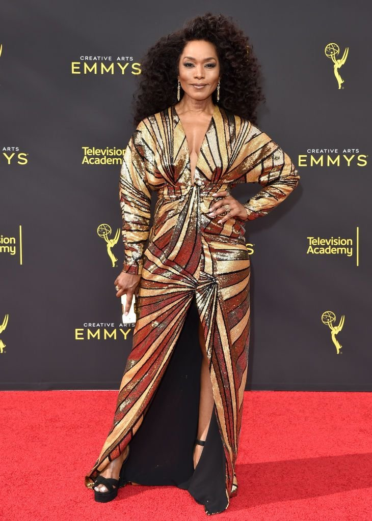 Angela Bassett during the 2019 Creative Arts Emmy Awards on September 14, 2019 in Los Angeles, California. | Source: Getty Images