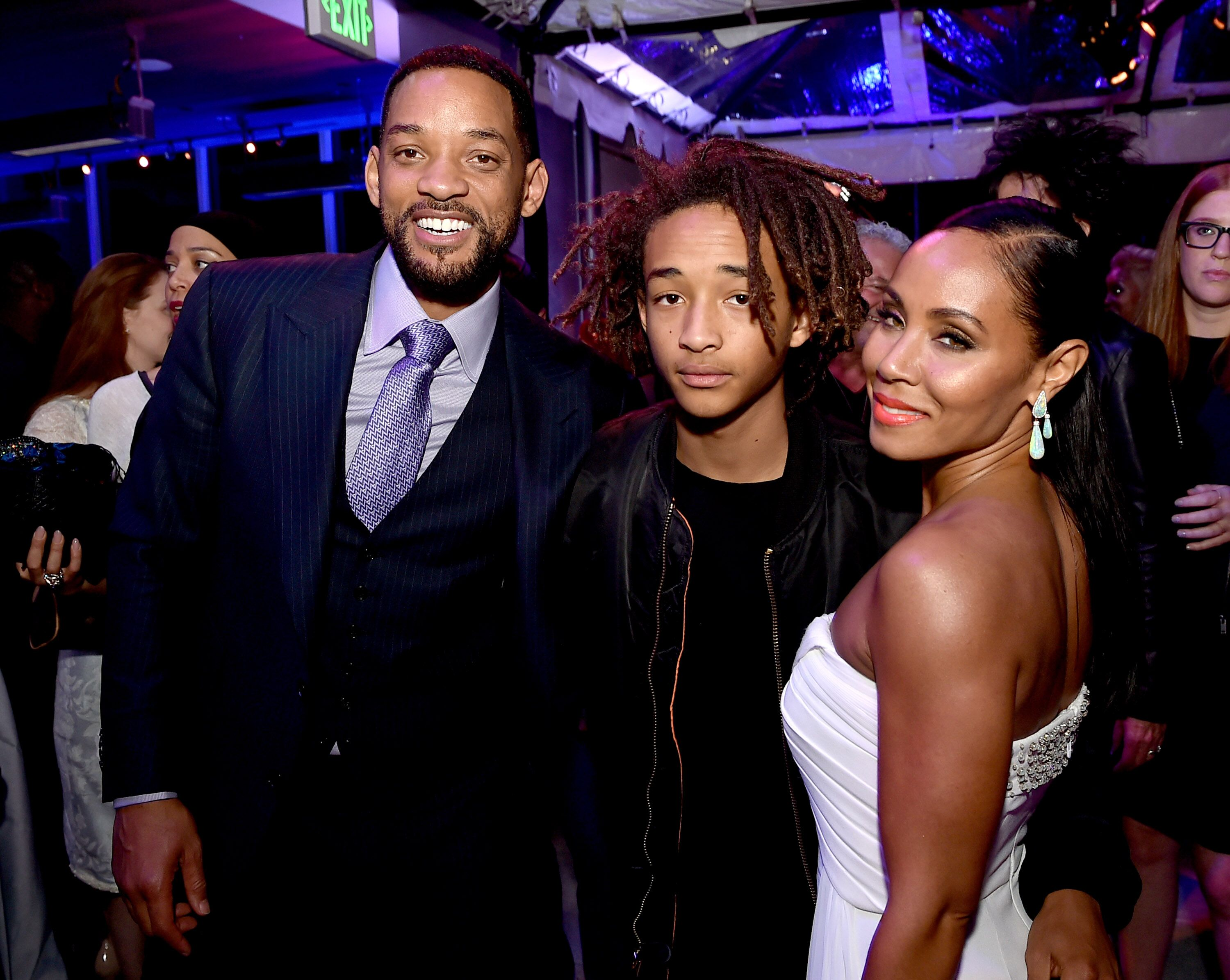 Jada Pinkett Smith and Will Smith celebrate son Jaden's birthday/ Source: Getty Images