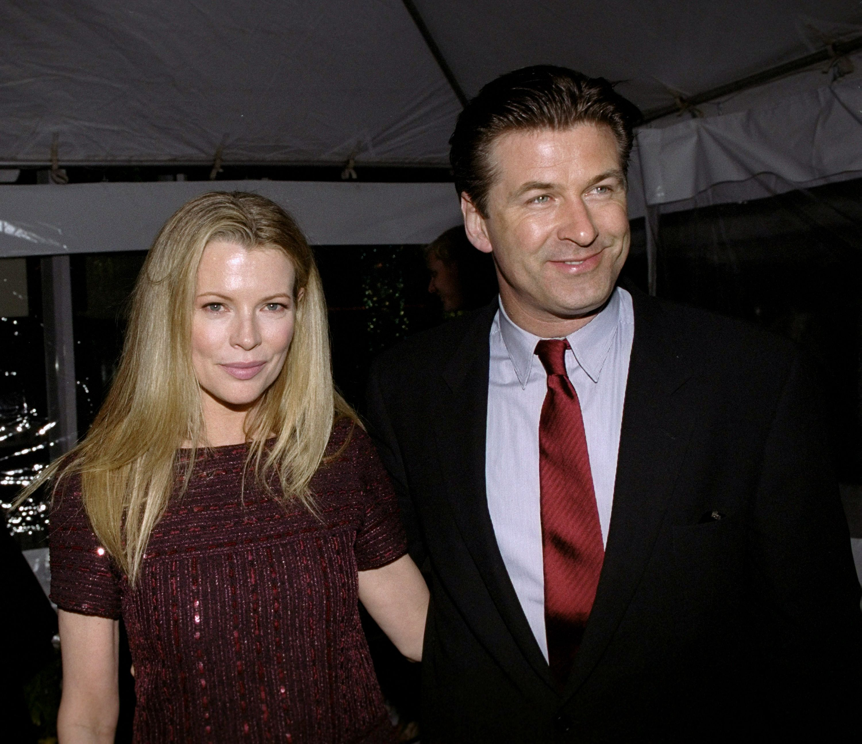 """Alec Baldwin and Kim Basinger at the premiere of """"I Dreamed Of Africa"""" in 2000   Source: Getty Images"""