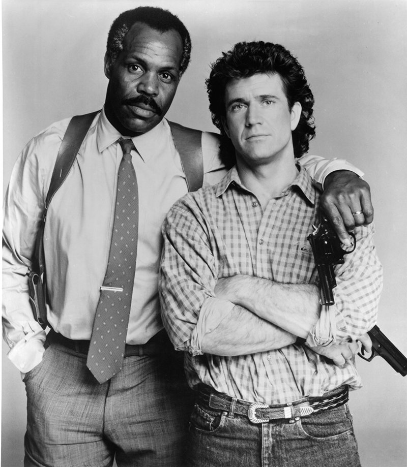 Danny Glover and Mel Gibson. I Image: Getty Images.