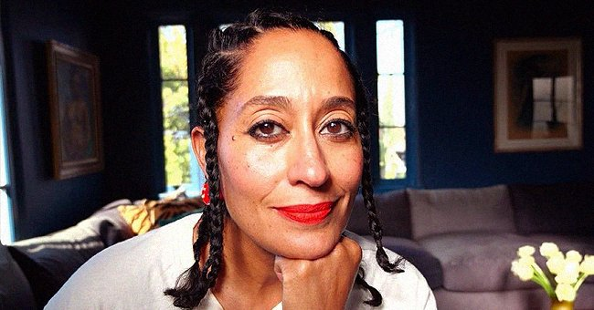 Tracee Ellis Ross Looks Simply Gorgeous Rocking Bold Red Lipstick with Short Braids (Photo)