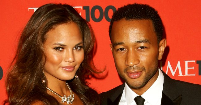 Watch Chrissy Teigen's Look-Alike Daughter Luna Sweetly Paint Her Brother Miles' Nails Pink