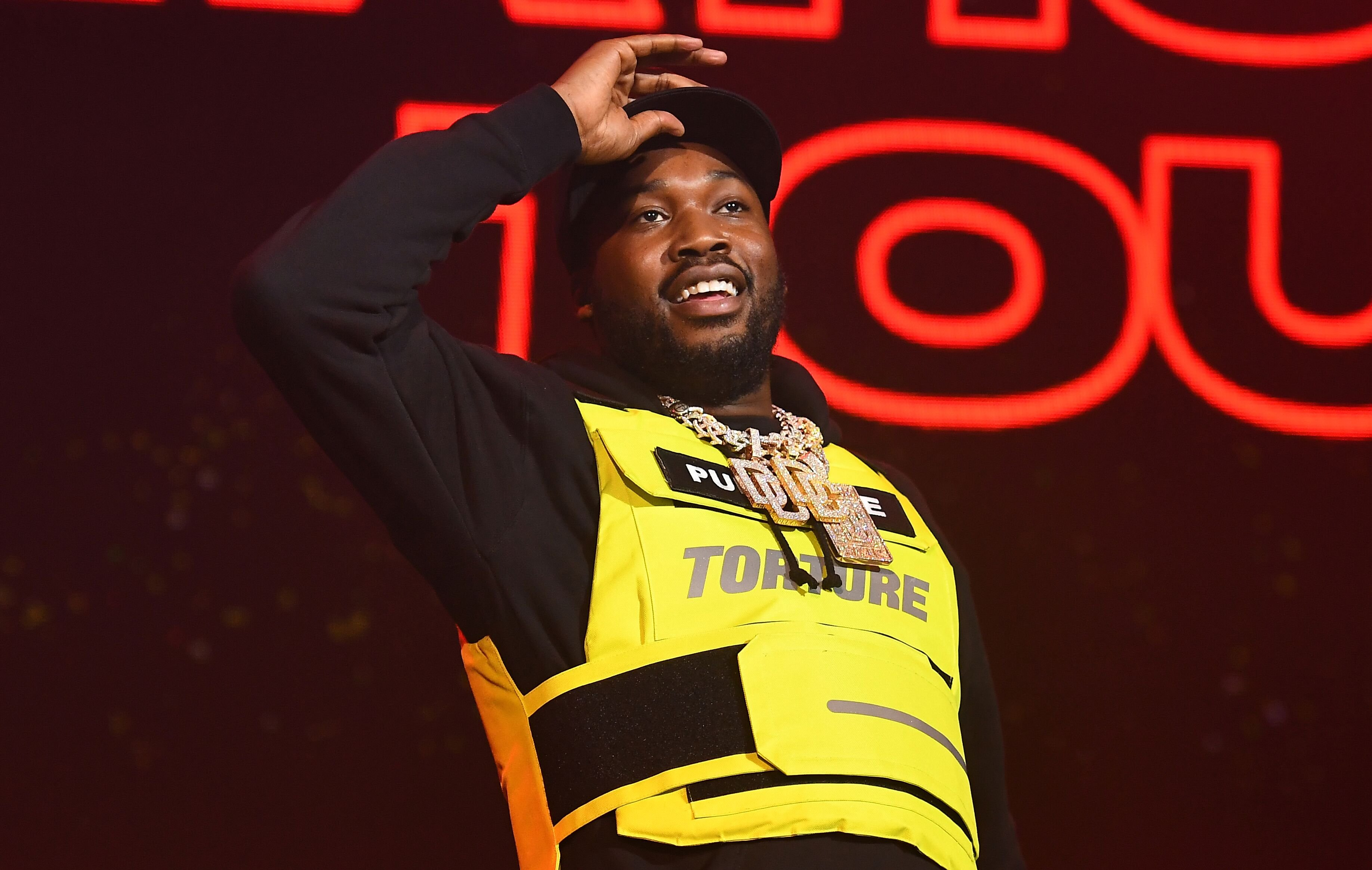 Meek Mill performing at a concert | Source: Getty Images/GlobalImagesUkraine