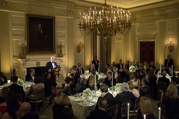 U.S. President Donald Trump speaks during the Governors Ball on Sunday, Feb. 24, 2019 | Photo: Getty Images