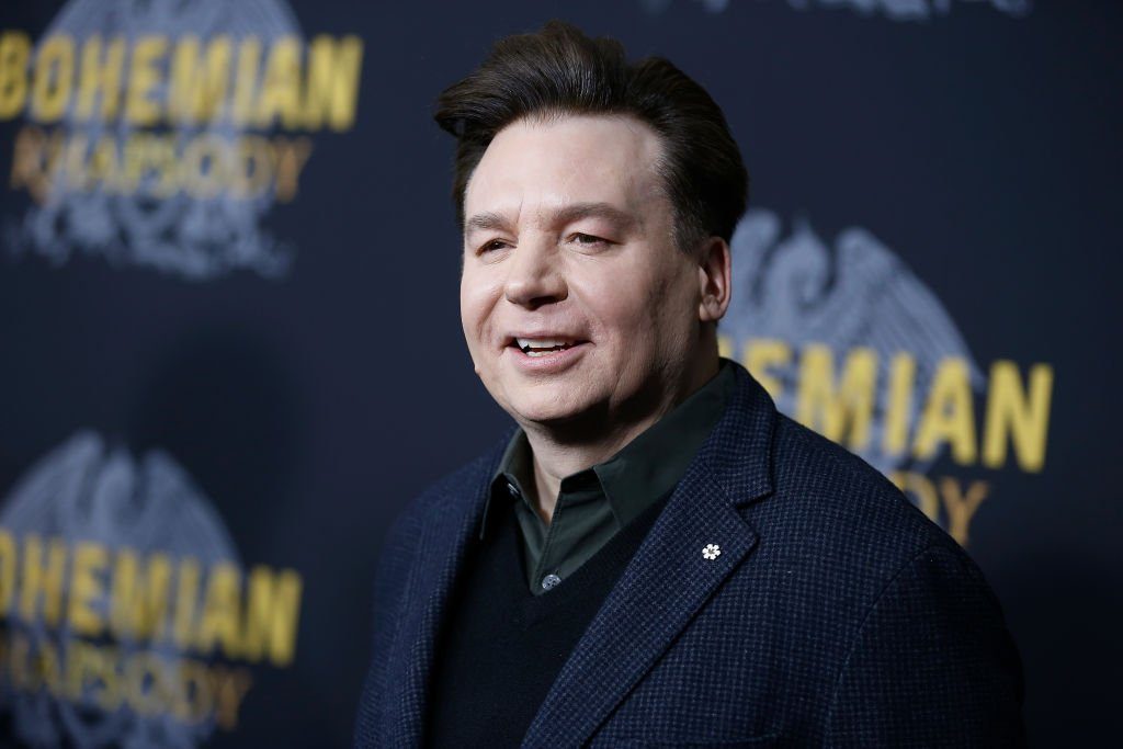 """Mike Myers attends """"Bohemian Rhapsody"""" New York premiere, October 2018 