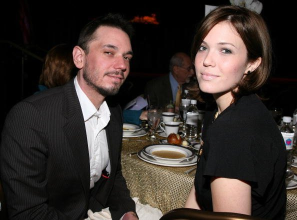 Adam Goldstein (DJ AM) and Mandy Moore attend the Friendly House 19th Annual Awards Luncheon at the Beverly Hilton Hotel on October 18, 2008 | Photo: Getty Images
