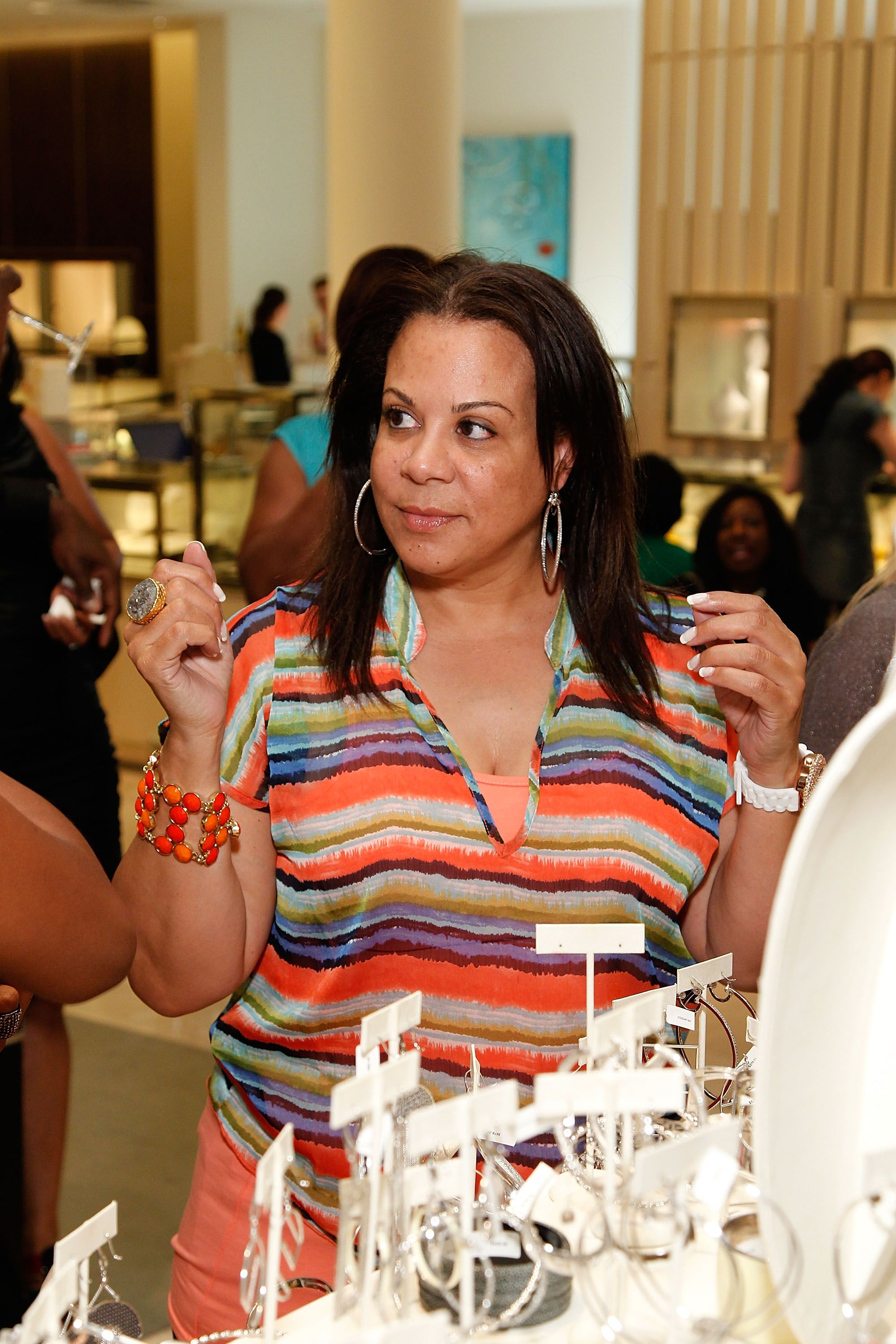 Juanita Vanoy attends the Simone I. Smith Trunk Show at Neiman Marcus Atlanta in 2012 | Source: Getty Images