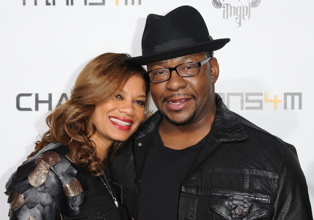 Alicia Etheredge and Bobby Brown attend Will.I.Am's Annual TRANS4M concert benefitting the I.Am.Angel Foundation on February 7, 2013 in Hollywood, California. | Source: Getty Images