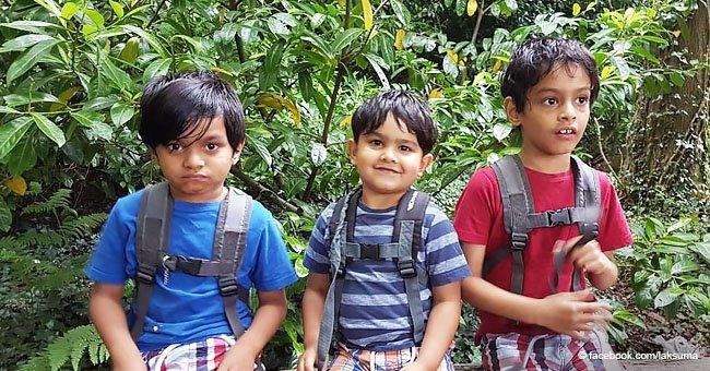 Mamá soltera revela las batallas cotidianas de criar a tres niños con autismo
