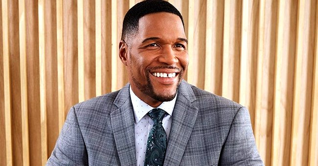 Michael Strahan from 'Good Morning America' Shares Adorable Video of His Curly-Haired Twin Daughter Doing a Christmas Dance