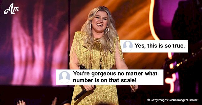 Kelly Clarkson jokes about holiday weight gain and fans relate to her in the comments