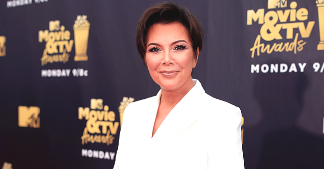 'Momager' Kris Jenner Shows Off Her Toned Legs in White Dress with Deep Slit
