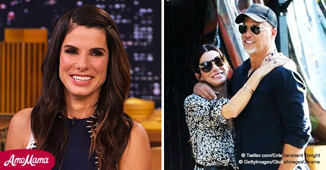 Sandra Bullock's love life has had a lot of drama, but she seems happy with her current beau