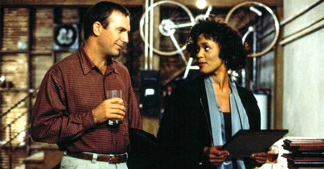 Kevin Costner Reveals That Whitney Houston Was Not Actually in The Iconic 'Bodyguard' Poster