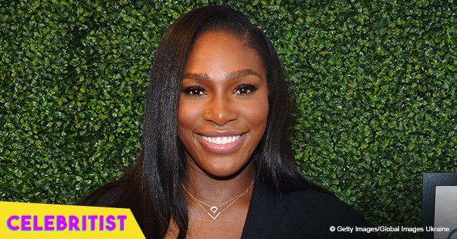 Serena Williams' daughter Olympia 'need to sleep' in new photo with mommy in the background