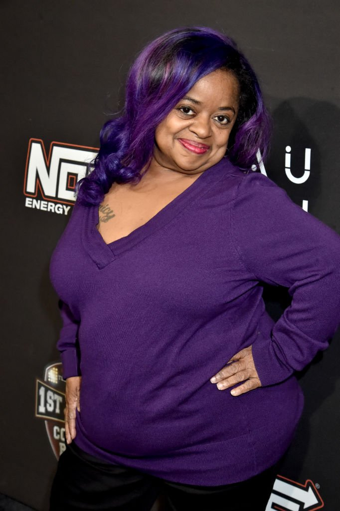 """Shirlene """"Ms.Juicy"""" King Pearson at Cedric The Entertainer's 1st & Goal Comedy Bowl on February 02, 2019 in Atlanta, Georgia 