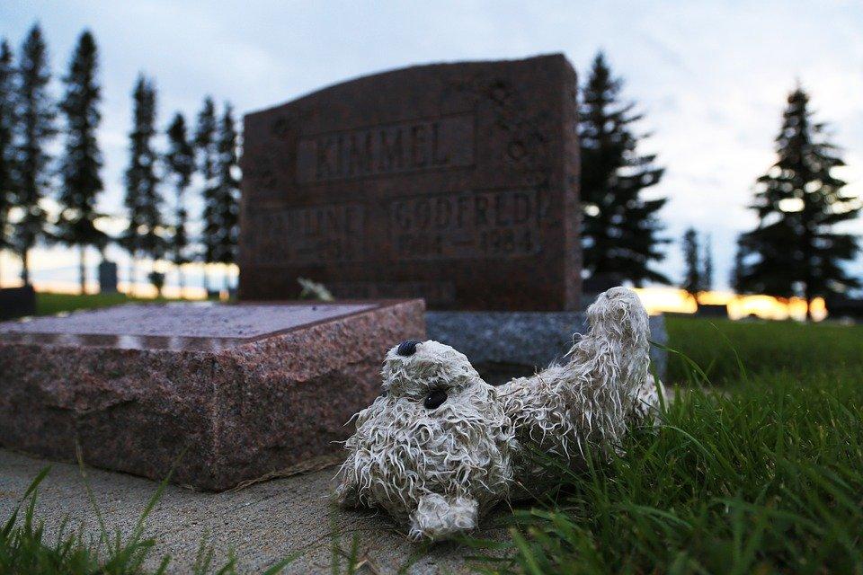 Lápida en cementerio │Imagen tomada de: Pixabay