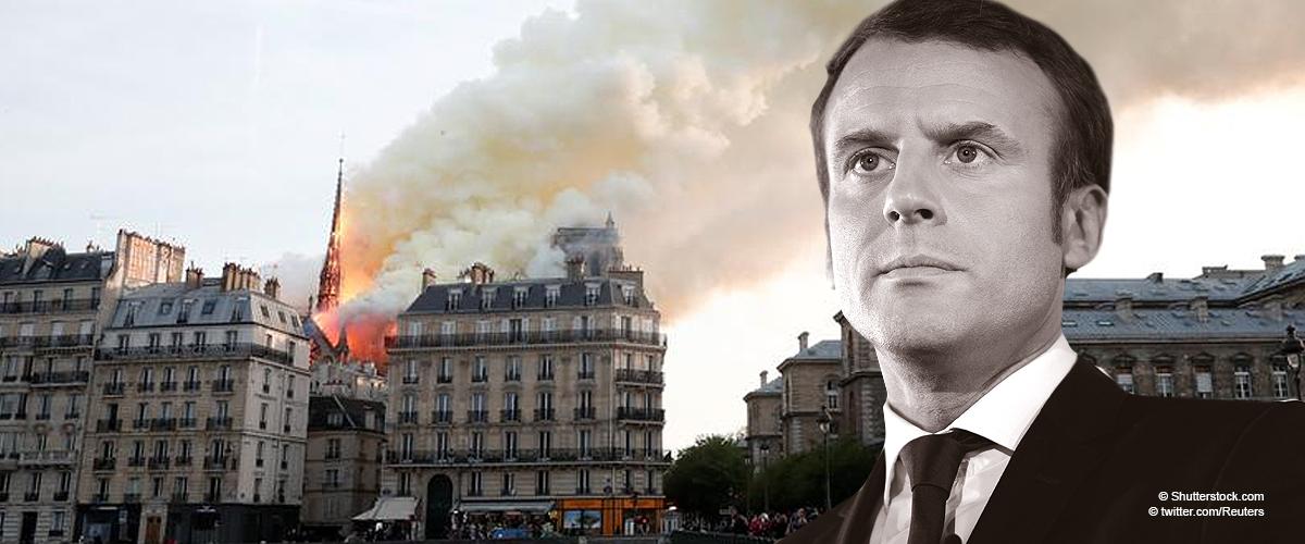 Incendie à Notre-Dame : Emmanuel Macron a fait son premier commentaire sur le cas dévastateur