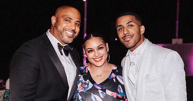 'Sister, Sister' Star Marques Houston Shares a Rare Photo Posing with His Look-Alike Siblings