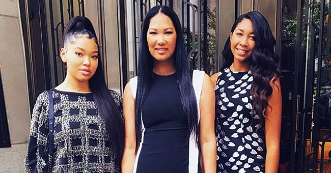 Kimora Lee Simmons' Daughter Aoki Makes Tea with Her Adopted Brother Gary in a New Video