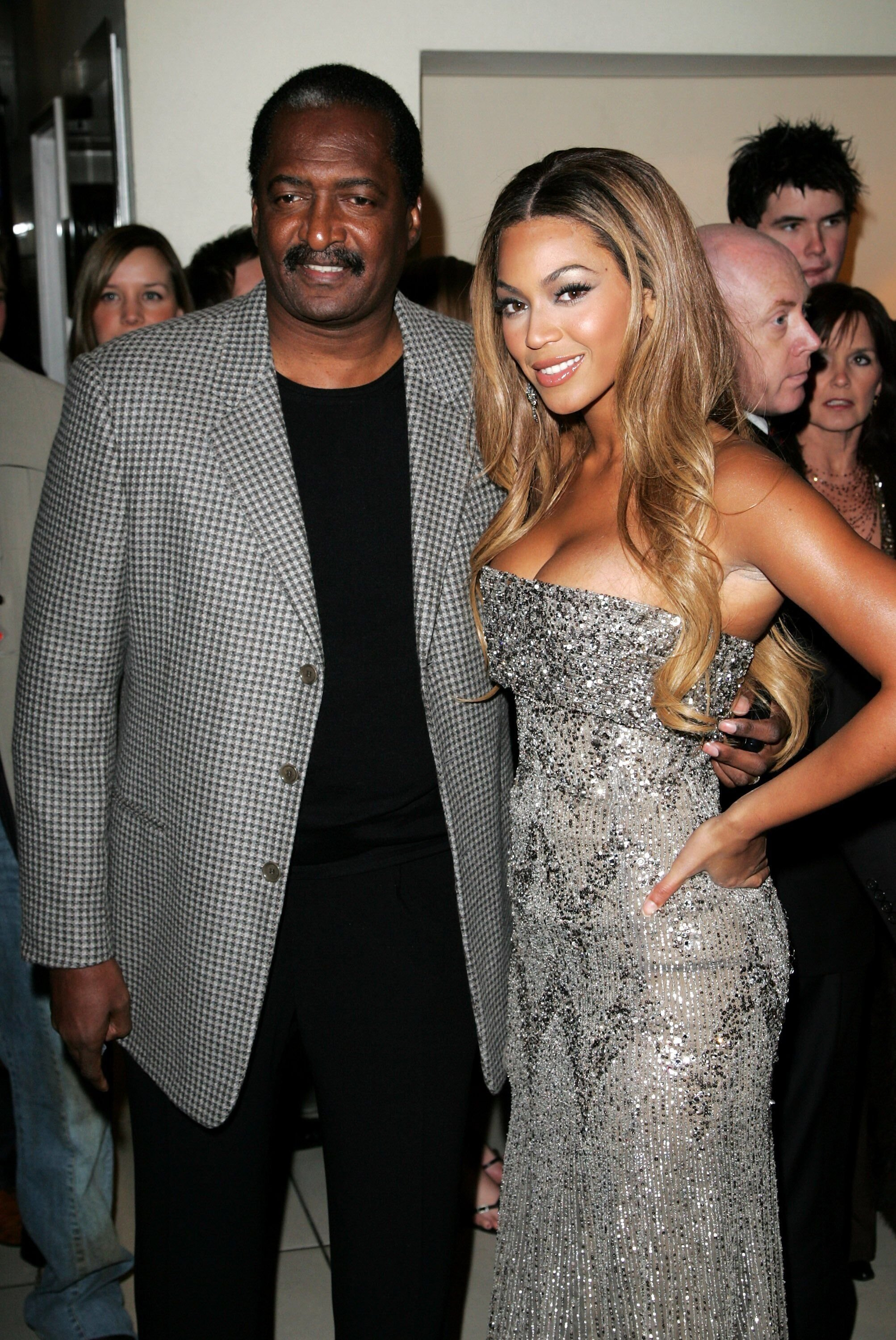 Mathew Knowles and Beyonce attend a formal event together | Source: Getty Images/GlobalImagesUkraine