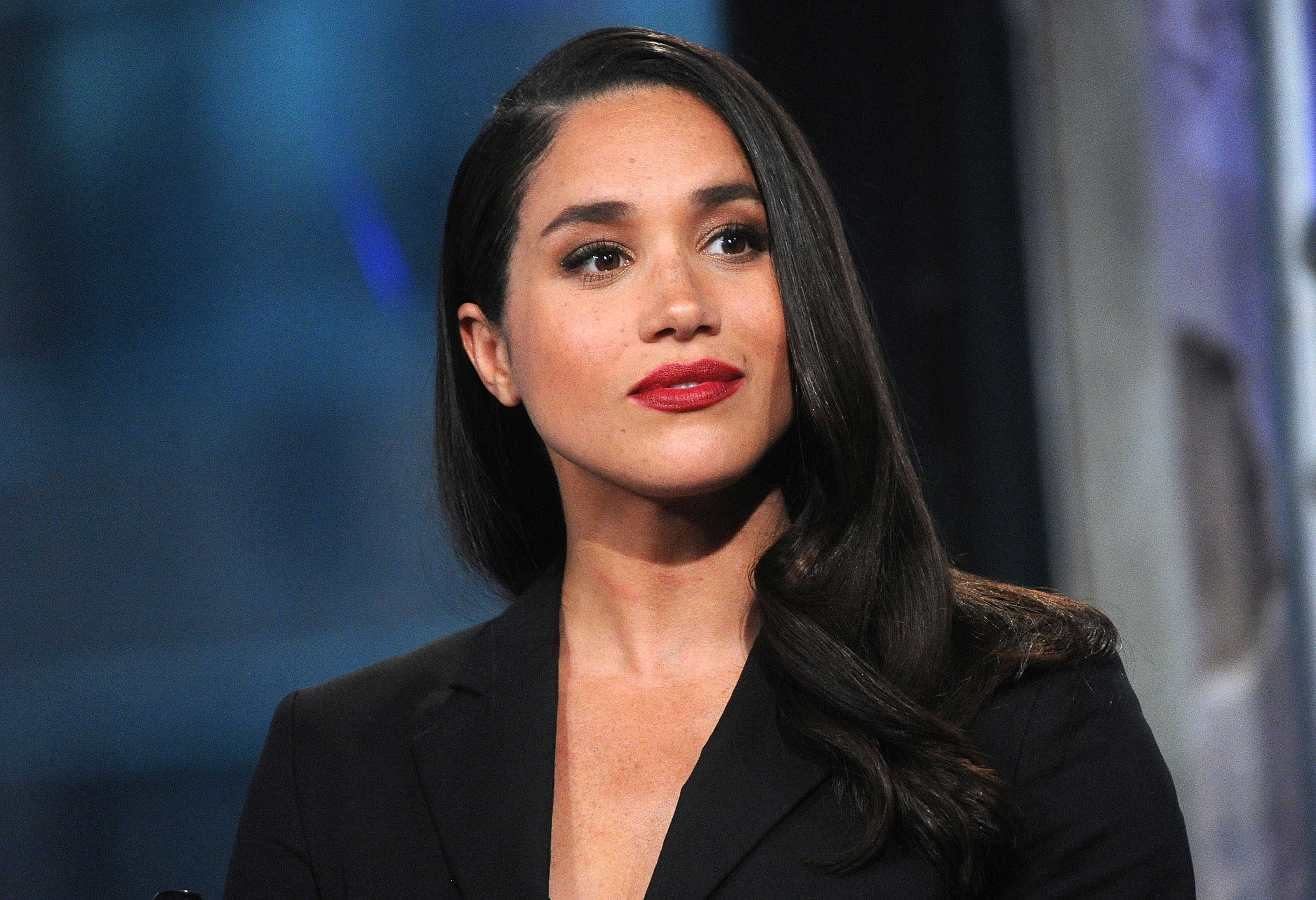 """Meghan Markle attends AOL Build Presents """"Suits"""" at AOL Studios In New York on March 17, 2016 in New York City   Photo: Getty Images"""