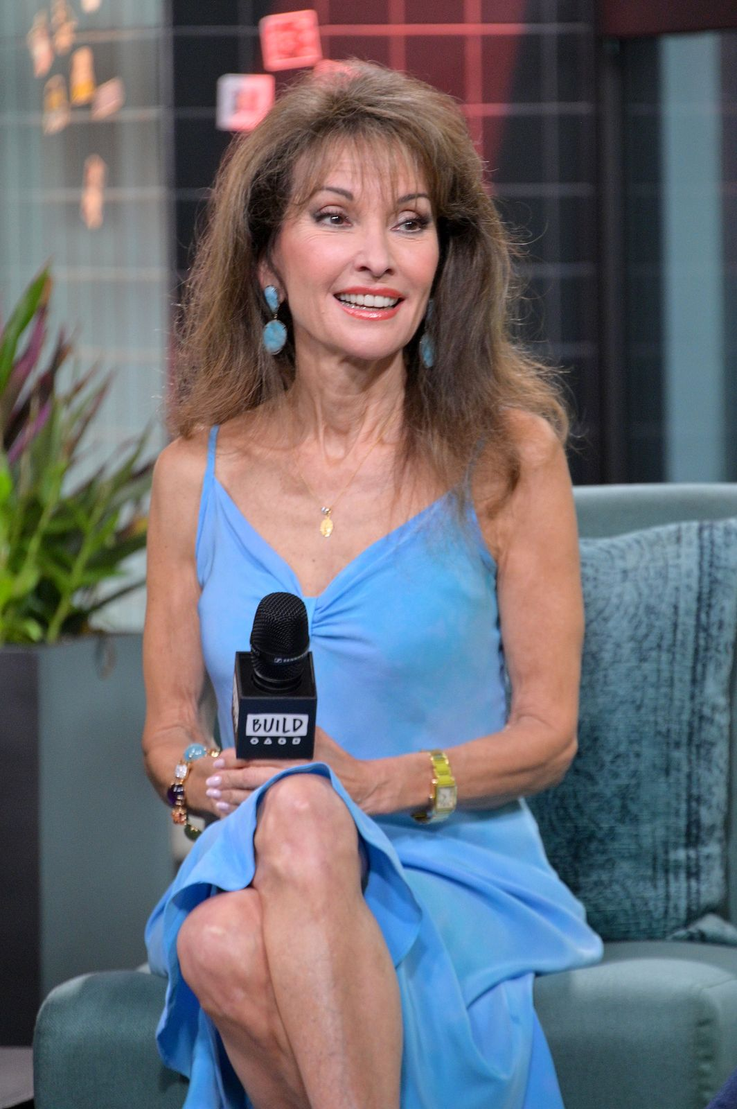 """Susan Lucci at Build to discuss the show """"Celebrity Autobiography"""" on July 09, 2019 