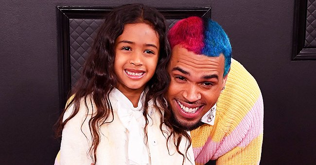 Chris Brown's Mom Joyce Hawkins Says Granddaughter Royalty Is Son's Twin in a Throwback Post