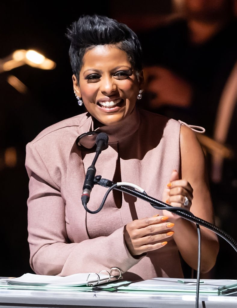 Broadcast journalist and TV talk show host Tamron Hall speaks on stage during the 2019 Marian Anderson Award Honoring Kool & The Gang at The Kimmel Center | Photo: Getty Images