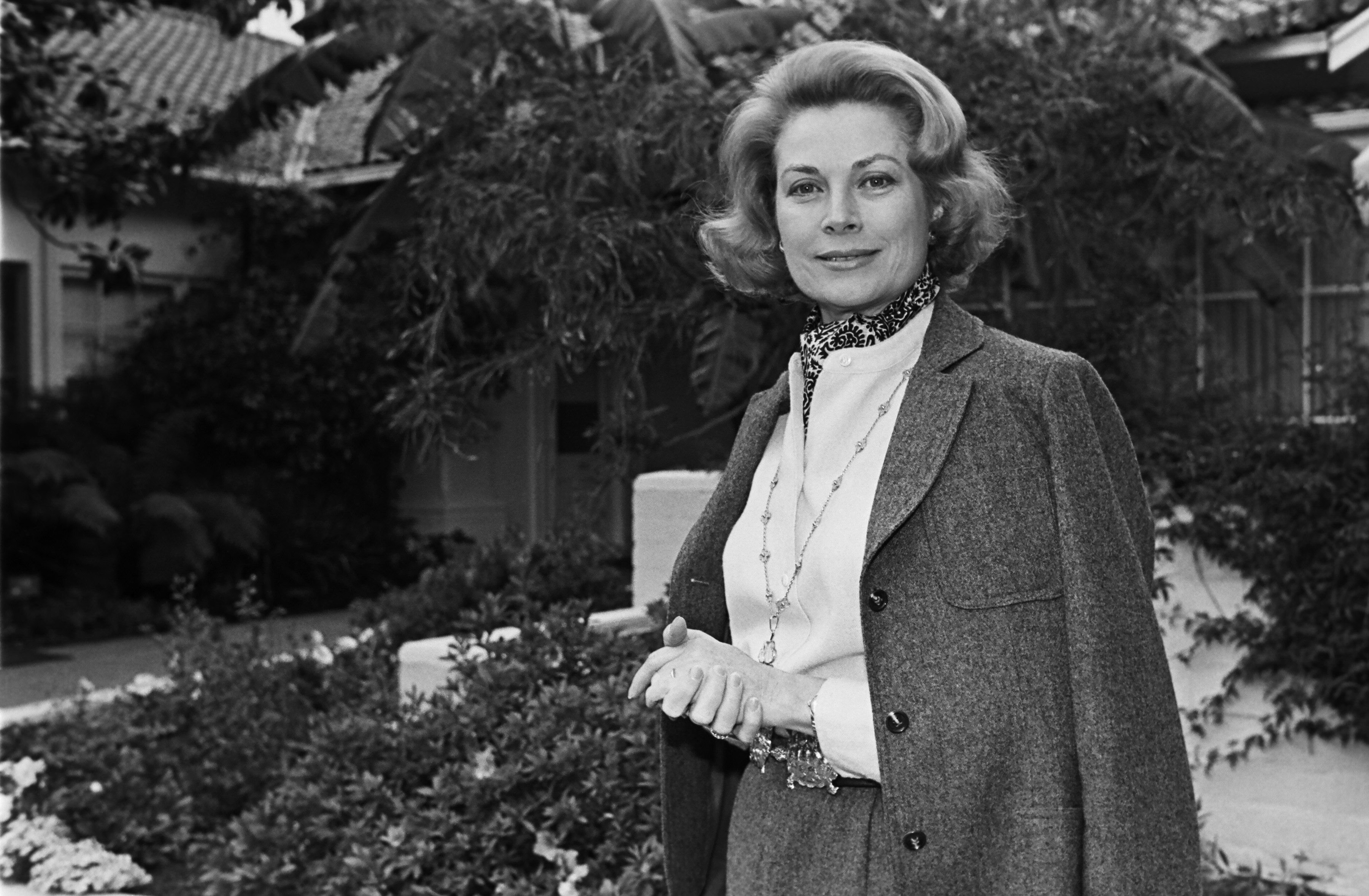 Princess Grace of Monaco in Bel Air, California in 1978 | Source: Getty Images