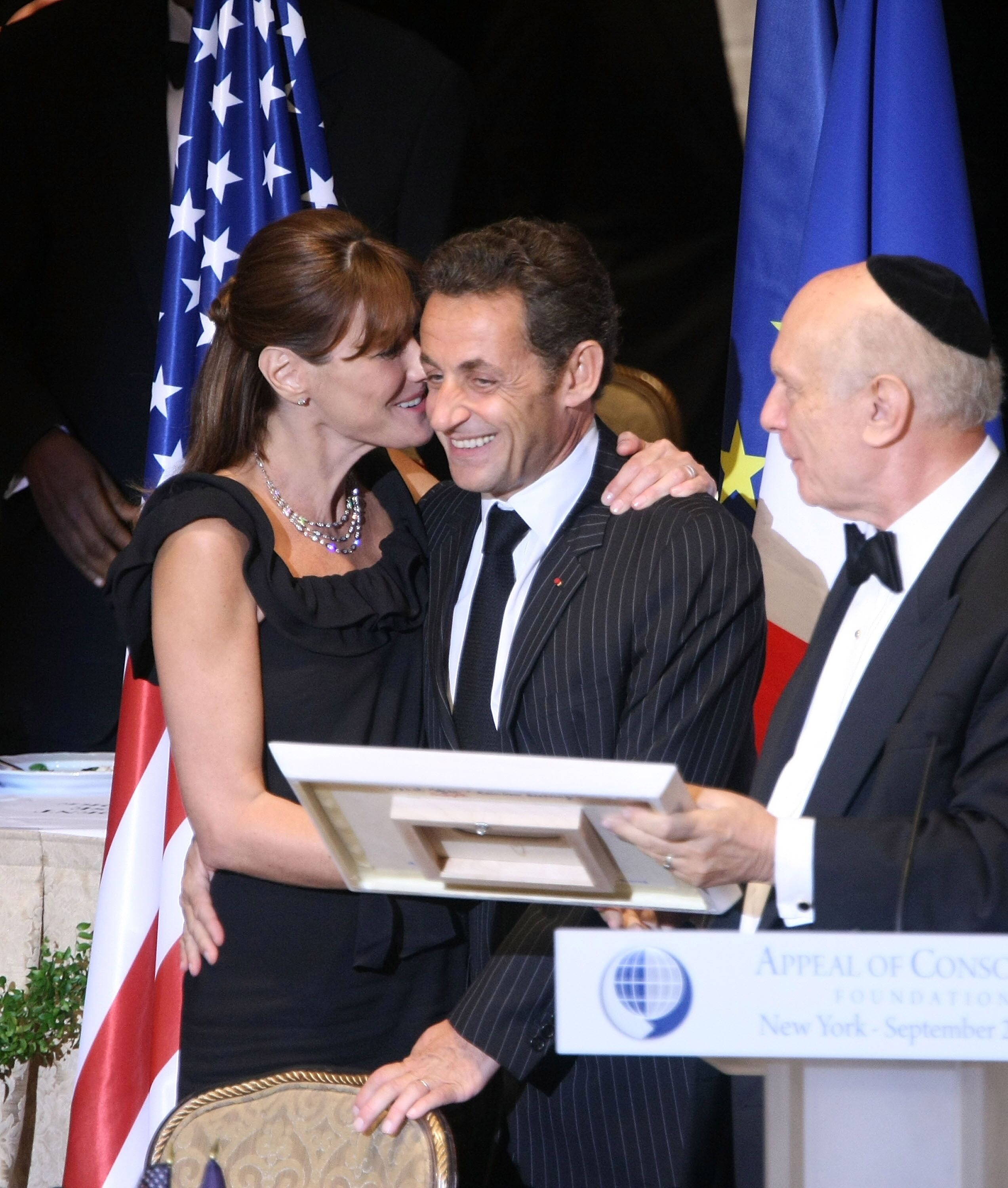 Carla Bruni et Nicolas Sarkozy. l Source : Getty Images