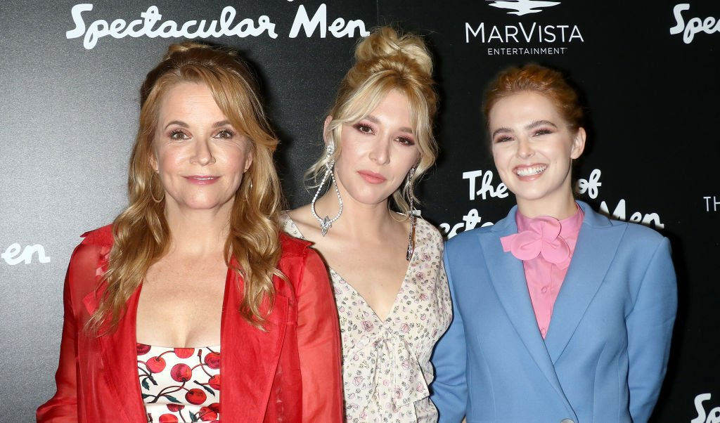 """Actresses Lea Thompson, Madelyn Deutch and Zoey Deutch attend the screening of """"The Year Of Spectacular Men"""" hosted by MarVista Entertainment and Parkside Pictures with The Cinema Society at The Landmark at 57 West on June 13, 2018 in New York City.   Source: Getty Images"""