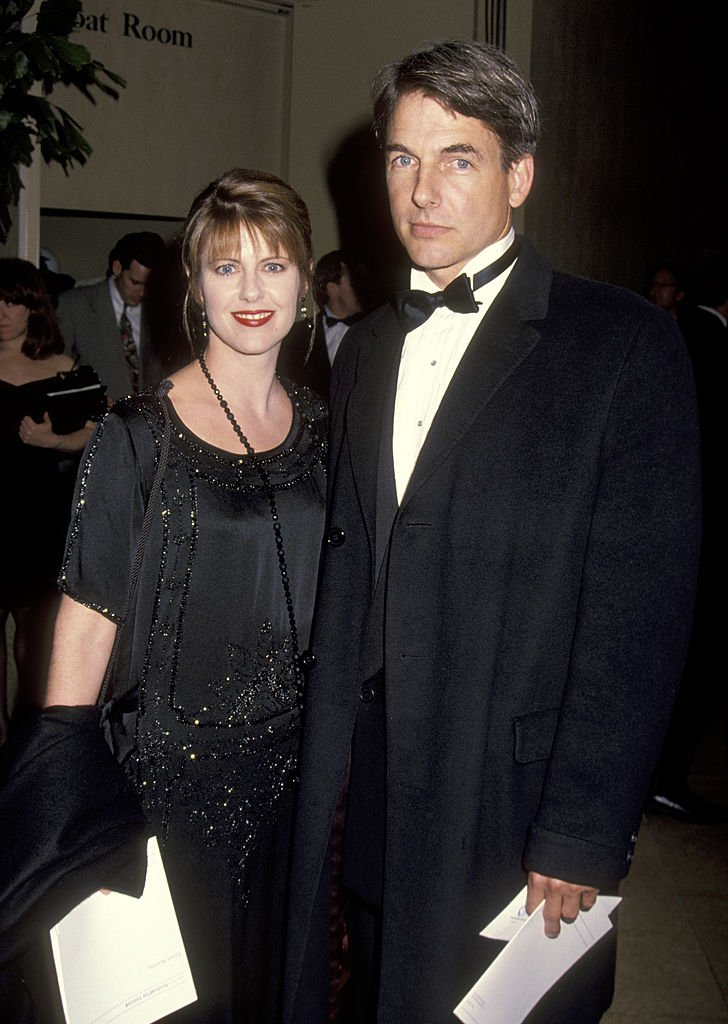 Pam Dawber and Mark Harmon during 21st Annual AFI Lifetime Achievement Awards Honors Liz Taylor at Beverly Hilton Hotel in Beverly Hills, California, United States. | Source: Getty Images
