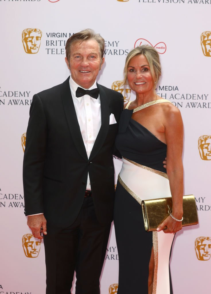 Bradley Walsh and his wife Donna Walsh attend the Virgin Media British Academy Television Awards 2021 at Television Centre on June 06, 2021.   Photo: Getty Images