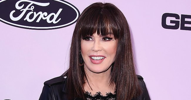 Marie Osmond Makes Blonde Hair Debut While Hosting 'The Talk' at Home during Quarantine
