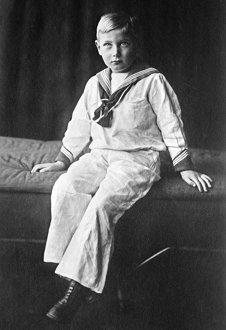 "Prince John, the ""Lost Prince"" circa 1913 