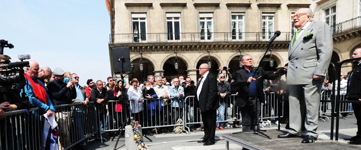 Ce 1er mai, Jean-Marie a donné un discours en disant que l'incendie de Notre-Dame de Paris a été un acte criminel