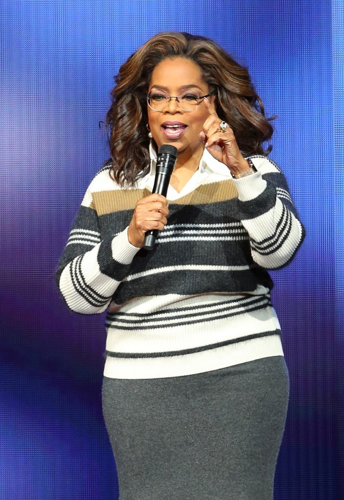 Oprah Winfrey speaks during her Oprah's 2020 Vision: Your Life in Focus Tour presented by WW (Weight Watchers Reimagined) at Xcel Energy Center | Photo: Getty Images