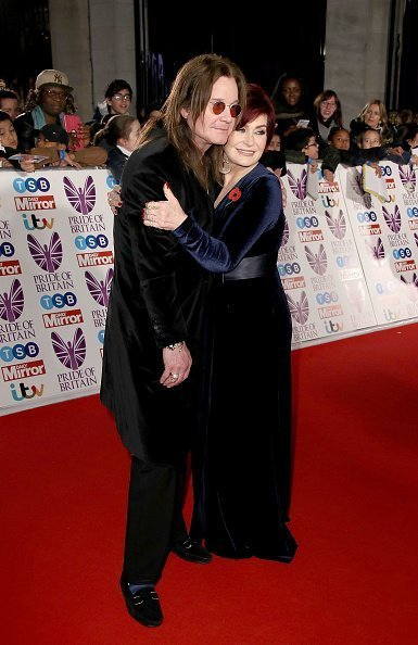 Ozzy and Sharon Osbourne attend the Pride Of Britain Awards at Grosvenor House in London | Photo: Getty Images