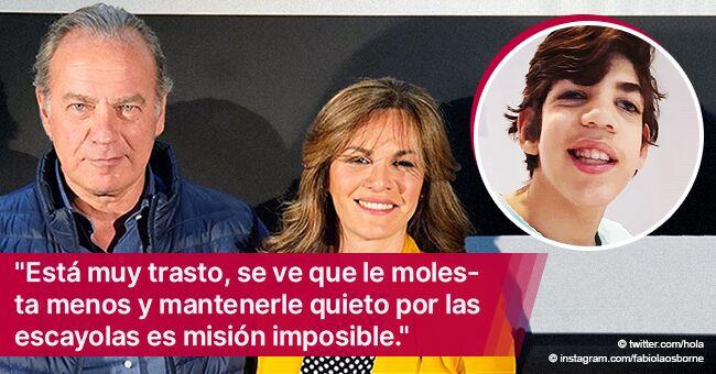 Esposa de Bertin Osborne, Fabiola Martínez, comparte noticias de la cirugía de su hijo